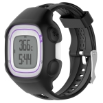 Smart Watch Silica Gel Protective Case for Garmin Forerunner 10 / 15(Black)