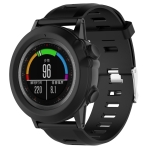 Smart Watch Silica Gel Protective Case for Garmin Fenix 3 (Black)