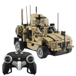 MoFun MZ6001 DIY Assembly Building Block Remote Control Armored Assault Vehicle