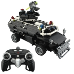 MoFun MZ6004 DIY Assembly Building Block Remote Control Special Police Explosion-proof Vehicle