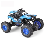 JJR/C 1:20 2.4Ghz 4 Channel Remote Control Off-road Climbing Truck Vehicle Toy (Blue)