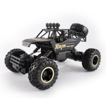 HD6026 1:12 Large Alloy Climbing Car Mountain Bigfoot Cross-country Four-wheel Drive Remote Control Car Toy, Size: 37cm (Black)