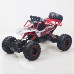 HD6026 1:12 Large Alloy Climbing Car Mountain Bigfoot Cross-country Four-wheel Drive Remote Control Car Toy, Size: 37cm (Red)