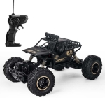 HD6026 1:16 Large Alloy Climbing Car Mountain Bigfoot Cross-country Four-wheel Drive Remote Control Car Toy, Size: 28cm (Black)