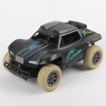 HD808 1:20 27Mhz Remote Control Short Truck High Speed Off-road Drifting Children Toy Car (Black)