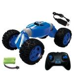 CV8818 Four-wheel Drive Climbing Car Model 2.4G Remote Control Off-road Deformation Car (Blue)