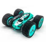 698E Large double-sided Stunt Car 2.4G Cross-country Remote Control Off-road Vehicle(Blue)