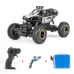 HD6241 1:16 Mountain-climbing Bigfoot Four-wheel Children Remote-controlled Off-road Vehicle Toy(Silver)