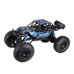 2837 1:10 Large High Speed Four-wheel Climbing Vehicle Model Bigfoot Monster Off-road Remote Control Racing Toy (Blue)