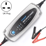 0.8A / 3.6A 12V 5 Stage Charging Battery Charger for Car Motorcycle,  UK Plug