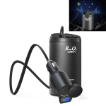 XPower S200 Plus Car Multi-functional  Power Inverter USB 3.0 Quick Charger Adapter + Negative Ions Air Cleaner (Black)