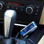 XPower TO-868 Car Air Purifier Negative Ions Air Cleaner (Blue)