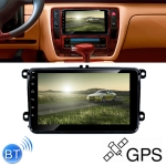 HD 1 Din 8 inch Car Android 8.0 Radio Receiver MP5 Player for Volkswagen, Support FM & AM & Bluetooth & TF Card & GPS