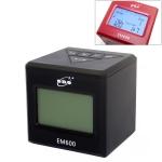 ENO EM600 LCD Display Screen Mini Electronic Dumb Combat Board Trainer Drum Exercise Metronome (Black)