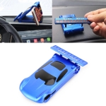 Multi-function Car Temporary Parking Card Mobile Phone Holder (Blue)