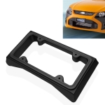 Car Auto Front Bumper Guard Anti-collision EVA License Plate Frame Tag Cover Protector License Plate Frame