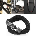 Motorcycles / Bicycle Chain Lock 5 Digit Password Anti-theft Password Lock, Length:1.0m