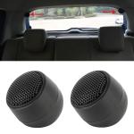 2 PCS T120 10W 98dB Car Dome Tweeter Audio Loudspeaker Treble Speaker