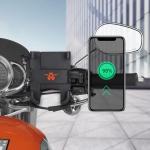 Portable Motorcycle Aluminium Alloy USB Charger Mobile Phone Holder, Handlebars Version