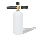 High Pressure Car Wash Foam Gun Soap Foamer Generator Water Sprayer Gun for Karcher K2 / K3 (Black)