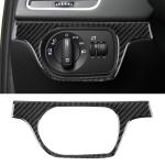Carbon Fibre Car Headlight Switch Decorative Sticker for Audi Q3