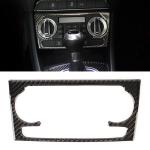 Carbon Fibre Car Air Conditioning Switch Panel Decorative Sticker for Audi Q3