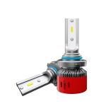 2 PCS 1903 9005 / HB3 / H10 DC9-36V / 24W / 6000K / 2400LM IP68 Car LED Headlight Lamps (Cool White)