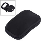 Neoprene U Disk Storage Bag Cover, Bag Size: 12x8cm (Black)