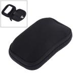 Neoprene U Disk Storage Bag Cover, Bag Size: 12x8cm (Black)