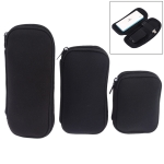3 in 1 Neoprene U Disk Storage Bag Cover (Black)