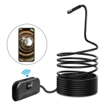 2.0MP HD Camera WiFi Endoscope Snake Tube Inspection Camera with 6 LEDs, IP68 Waterproof, Lens Diameter: 8mm, 3.5m Hard Cable