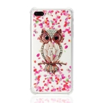 TPU Protective Case For iPhone 8 Plus & 7 Plus(Pink Owl)