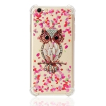 TPU Protective Case For iPhone 6 Plus & 6s Plus(Pink Owl)