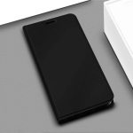 DZGOGO ISKIN Series Slight Frosted PU+ TPU Case for Google Pixel 3a (Black)