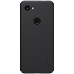 NILLKIN Frosted Concave-convex Texture PC Case for Google Pixel 3a (Black)