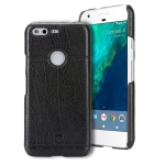 Pierre Cardin PCL-P03 Shockproof PC + Leather Protective Case for Google Pixel XL (Black)