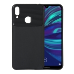 Beetle Series Shockproof TPU Case for Huawei Y7 (2019) / Y7 Prime (2019) (Black)