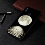 Moon Painted Pattern Soft TPU Case for Huawei P Smart (2019)