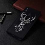 Elk Painted Pattern Soft TPU Case for Huawei P Smart (2019)