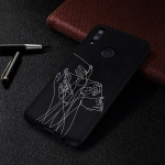 Five Hands Painted Pattern Soft TPU Case for Huawei P Smart (2019)