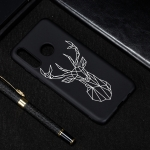 Elk Painted Pattern Soft TPU Case for Huawei P30 Lite