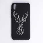 Elk Painted Pattern Soft TPU Case for Huawei Y5 (2019)