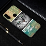 Cat Painted Pattern Soft TPU Case for Huawei Y6 (2019)