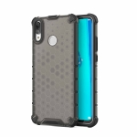 Honeycomb Shockproof PC + TPU Case for Huawei Y9 (2019) (Black)
