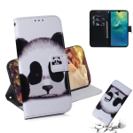 Panda Pattern Coloured Drawing Horizontal Flip Leather Case for Huawei Mate 20, with Holder & Card Slots & Wallet