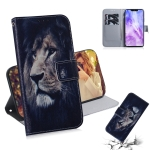Lion Pattern Coloured Drawing Horizontal Flip Leather Case for Huawei Nova 3, with Holder & Card Slots & Wallet