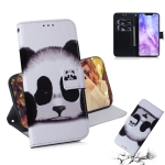 Panda Pattern Coloured Drawing Horizontal Flip Leather Case for Huawei Nova 3, with Holder & Card Slots & Wallet