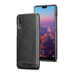 Pierre Cardin PCL-P03 Shockproof PC + Leather Protective Case for Huawei P20 (Black)