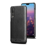 Pierre Cardin PCL-P03 Shockproof PC + Leather Protective Case for Huawei P20 Pro (Black)