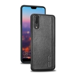 Pierre Cardin PCS-S02 Shockproof TPU + Leather Protective Case for Huawei P20(Black)